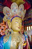 Zukünftiger Buddha Stockfoto