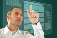 Zukünftiger Computer Lizenzfreie Stockbilder