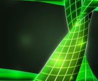 Zukünftiger grüner abstrakter Beschaffenheits-Hintergrund vektor abbildung