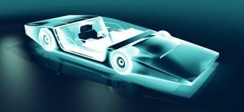 Zukünftiger Sportwagen Lizenzfreie Stockfotografie