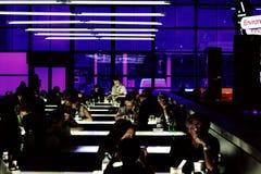 Zukünftiges Café Stockbild