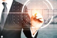 Zukünftiges Konzept Stockfotos