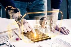 Zukünftiges Konzept Lizenzfreies Stockfoto