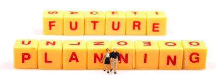 Zukünftige Planung Stockfotografie
