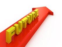 Zukünftige Richtung Lizenzfreies Stockfoto