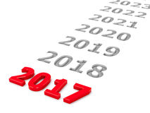 2017 Zukunft 2 stock abbildung