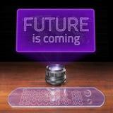 Zukunft kommt Stockfoto