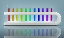 Zukunft von Chemie lizenzfreie stockfotos
