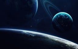 Zukunftsromankunst Schönheit des Weltraums Elemente dieses Bildes geliefert von der NASA stockbild