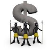 Zulú - monumento del dólar libre illustration