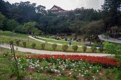Zulai Bhudist寺庙庭院圣保罗 免版税库存照片