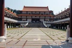 Zulai Budhist Tempel Lizenzfreie Stockbilder