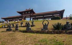Zulai Budhist Temple Cotia Sao Paulo Stock Photo