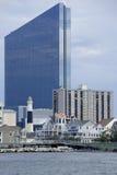 Zulaufbereich von Atlantic City, New-Jersey Stockfoto
