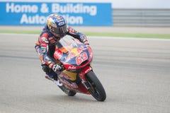 Zulfahmi Khairuddin Moto 3 KTM Imagens de Stock Royalty Free