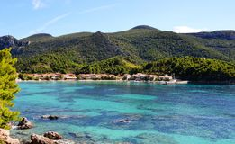 Zuljana bay on the peninsula of Peljesac Royalty Free Stock Photo