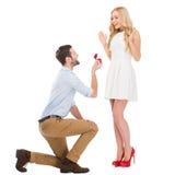 Zult u me huwen? Stock Fotografie