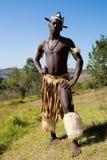 zulu танцора Стоковые Изображения