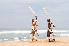 zulu танцы стоковое изображение