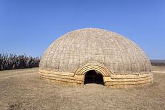 Zulu beehive hut. Stock Photo