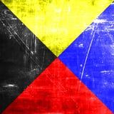 Zulu maritime signal flag Stock Photography