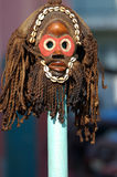 Zulu Mask 2. Cerimonial African mask Stock Image