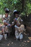 Zulu men, South Africa Stock Images