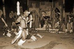 Zulu tancerze Obrazy Stock