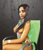 Zulu Teen Models Stock Photography