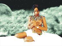 Zulu Teen Models Stock Images