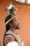 Zulu wojownika portret Obraz Royalty Free
