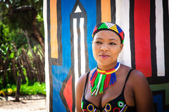 Zulu woman Stock Photography