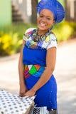 Zulu woman mall Royalty Free Stock Photography