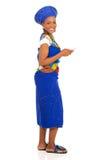Zulu woman smart phone Royalty Free Stock Photos