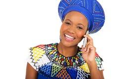 Zulu woman smart Stock Images