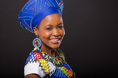 Zulu woman traditional Royalty Free Stock Photos