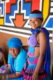 Zulu women Stock Image
