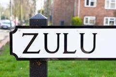 Zulu Stock Image
