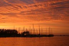 zululand восхода солнца Стоковые Изображения RF