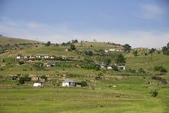 Zululand rurale Fotografia Stock