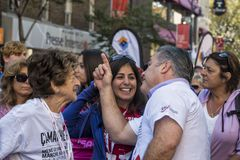 Zum Gedenken an Aktivisten Ron Farhas HIVAIDS stockbild