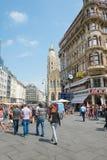 Zum goldenen Becher - Vienna Immagine Stock Libera da Diritti