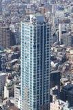 Zum modernen Bezirk von Tokyo schauen, Japan Stockfotos