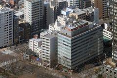 Zum modernen Bezirk von Tokyo schauen, Japan Stockbilder