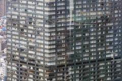 Zum modernen Bezirk von Tokyo schauen, Japan Stockbild