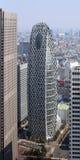 Zum modernen Bezirk von Tokyo schauen, Japan Stockfotografie
