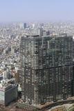 Zum modernen Bezirk von Tokyo schauen, Japan Lizenzfreie Stockfotos