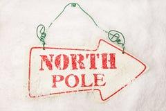 Zum Nordpol Stockbild