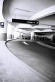 Zum Parkplatz Lizenzfreies Stockfoto