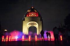 Zum Revolutions-Monument Stockfotografie